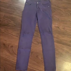 7 For All Mankind soft purple jean